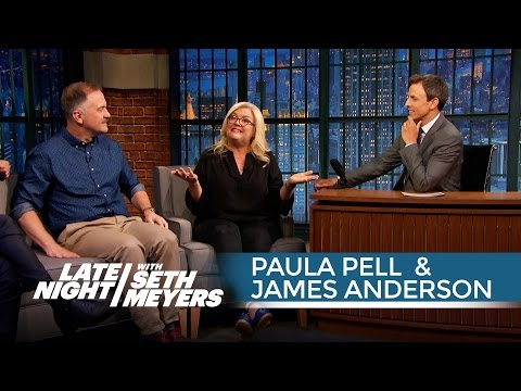 Paula Pell and James Anderson's Human Tricks and SNL Memories - Late Night with Seth Meyers