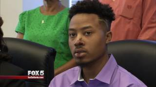 Driver speaks about viral encounter with former Gwinnett County police officers