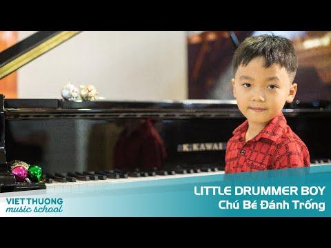 LITTLE DRUMMER BOY - HỌC VIÊN TRƯỜNG ÂM NHẠC VIỆT THƯƠNG