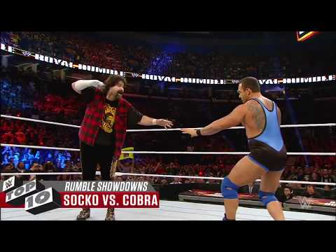 Wildest Royal Rumble Match showdowns  WWE Top 10, Jan  13, 2018 | WEE (видео)