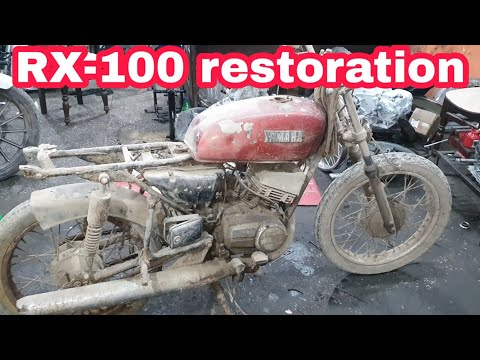 Yamaha RX100 | full restoration | year 1989 | ncr mororcycles |