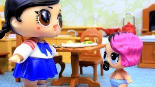 Куклы LOL Surprise СЕСТРИЧКА ЛОЛ Мультик Сюрпризы для Детей #Игрушки с Лалалупси Вероника