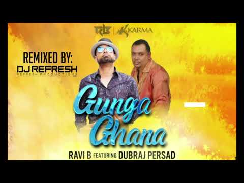 Gunga Ghana Remix - Ravi B Ft Dubraj Persad|REFRESH FT KJ Pro Graphics