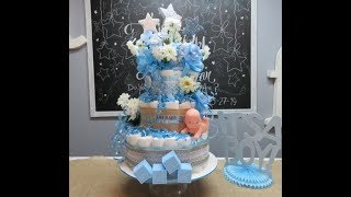 Baby Shower Series Project 3: Diaper Cake