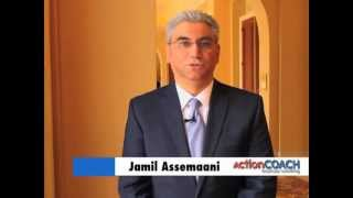 preview picture of video 'Introducing ActionCOACH Business Coach Jamil Assemaani'