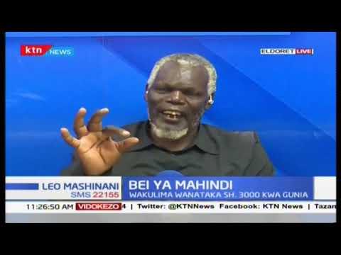 Bei ya Mahindi:  Wakulima wanataka SH. 3000 kwa gunia