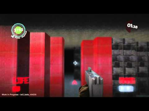 Wolfenstein 3D Recreated In LittleBigPlanet 2