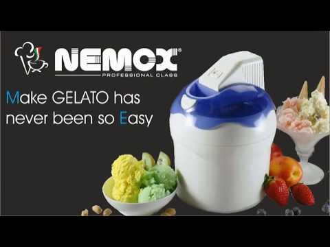 Мороженица Nemox DOLCE VITA 1.5 Black (черная)