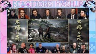 E3 2018   Ghost of Tsushima Gameplay Reveal Reactions Mashup