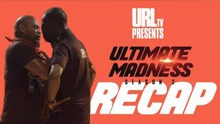 ULTIMATE MADNESS SEASON 2: ROUND 1 RECAP | URLTV