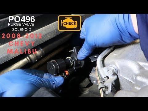 2013 Chevrolet Cruze  P0496 vapor canister valve purgue
