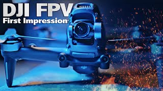 DJI FPV Unboxing & First Impressions! With First Flight Test Footage