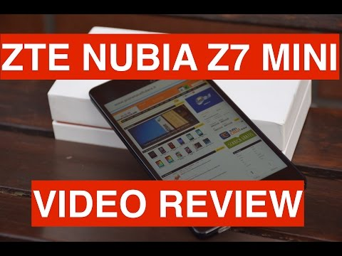 Review ZTE Nubia Z7 Mini Dual Sim, video recensione in Italiano