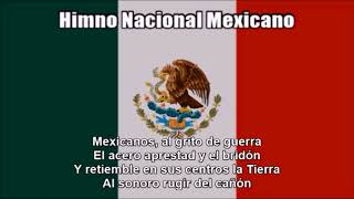 National Anthems of Canada, the United States and Mexico (Nightcore Style With Lyrics)