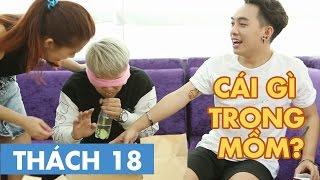 THÁCH 18 | CÁI GÌ TRONG MỒM? (Phở, Thảo & Duy Khánh Zhou Zhou) | GameShow Hài Hước Việt Nam