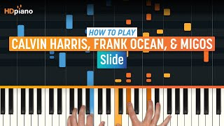 How To Play 'Slide' by Calvin Harris, Frank Ocean, & Migos | High Quality Mp3piano (Part 1) Piano Tutorial
