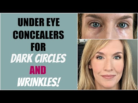 Under Eye Concealers for Mature Skin AND Dark Circles | 14 Concealer Reviews!