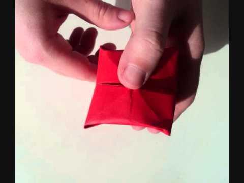 Φτιάξτε μια τουλίπα οριγκάμι