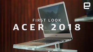 Acer 2018 PC lineup First Look
