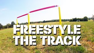FPV-DIRK: FREESTYLE THE TRACK (FPV FREESTYLE, FPV RACING, AERIAL VIDEO, UNCUT)(4k)
