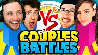 COUPLES BATTLES: THE GAME OF LIFE!! CRUNDEE vs GARREAH