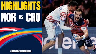 Norway vs. Croatia Highlights | Day 15 | Men's EHF EURO 2020