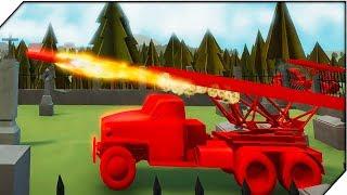 КАТЮША РАЗОЗЛИЛАСЬ. Компания за СССР #1 - Игра Total Tank Simulator Demo 4 прохождение
