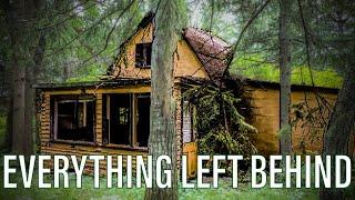 Abandoned House EVERYTHING LEFT BEHIND!!!