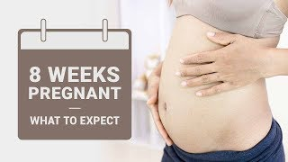8 Week Pregnant -  What to Expect?