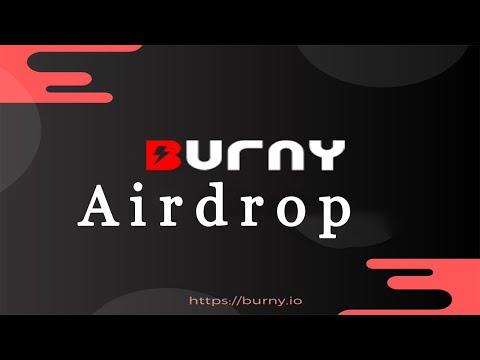 Ganhe Grátis $5 Dólares em tokens BRN no Airdrop Bot Burny !!!