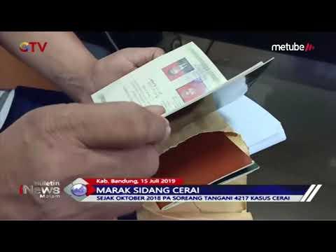 Marak Perceraian, Calon Janda & Duda Antre Sidang di Kabupaten Bandung - BIM 15/07