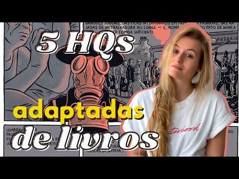 5 HQS ADAPTADAS DE LIVROS | Laura Brand