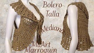Chaleco Bolero Crochet Tutorial Paso A Paso