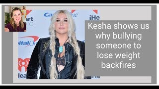 How Dr. Luke Made Kesha Gain Weight