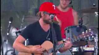 """Josh Wilson performs """"Carry Me"""" at 94.9 KLTY's Celebrate Freedom® 23"""