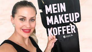 Makeup Artist zeigt ihr Makeup Kit