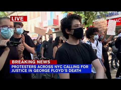 Third day of protests in Brooklyn as thousands take to streets