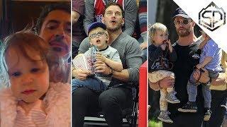 Забавные моменты с актёрами Войны Бесконечности и их детьми