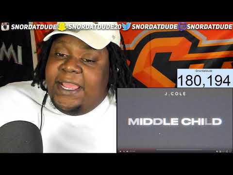 J.COLE HAD TO ADDRESS THE BS!!! J. Cole - Middle Child (Official Audio) REACTION!!!
