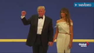 Donald & Melania Trump dance to Spinal Tap's 'Sex Farm'