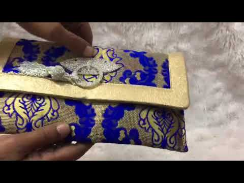 Brocade Beautiful Clutch