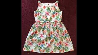 DIY Easy Little Girls Dress