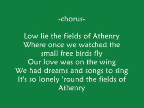 Orthodox Celts Fields Of Athenry Chords