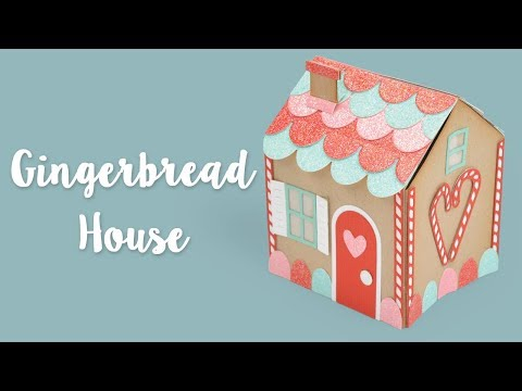 How To Make A No-Mess Gingerbread House! | Sizzix