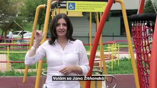 Jana Žitňanská: Za ľudí