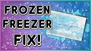 Fix Freezer Ice Build-Up: Reset Defrost Timer Switch Video