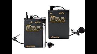 Обзор Системы VHF Azden (WLX-PRO) Петличный микрофон.