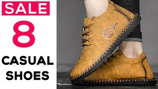 8 Best Casual Shoes For Men - Latest Mens Fashion Shoes