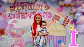 LONDYN'S CANDYLAND BIRTHDAY PARTY!!!