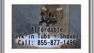 preview picture of video 'Install and Buy Walk in Tubs Hamilton, Ohio 855 877 1496 Walk in Bathtub'